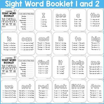 Sight Word Fluency Readers - Pre-Primer.