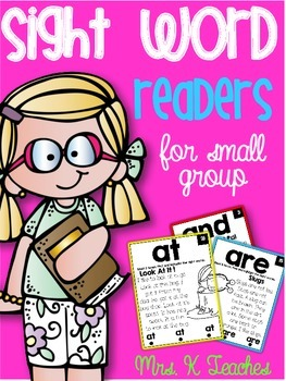 SIGHT WORD FLUENCY READERS SET 3