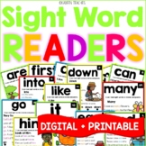 Sight Word Fluency Readers and Sight Word Boom Cards™ Bundle