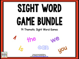 EDITABLE! SIGHT WORD GAMES BUNDLE!  EXCLUSIVE!
