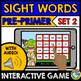 SIGHT WORD GAMES (DOLCH PRE- PRIMER WORDS INTERACTIVE GAMES BUNDLE) BOOM CARDS