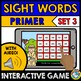 SIGHT WORD GAMES (DOLCH PRIMER WORDS INTERACTIVE GAMES BUNDLE) BOOM CARDS