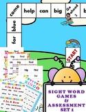 SIGHT WORD GAMES PLUS  ASSESSMENT SET 1