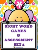 SIGHT WORD GAMES PLUS  ASSESSMENT SET 2