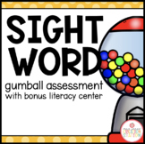 SIGHT WORD GUMBALL ASSESSMENT BOOK (BONUS: GUMBALL LITERAC