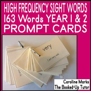 {HIGH FREQUENCY WORDS} {sight words flash Cards} {dyslexia}