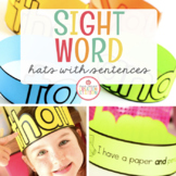 SIGHT WORD PAPER HATS