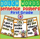 SIGHT WORD POSTERS FIRST GRADE DOLCH WORDS