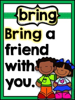 SIGHT WORD POSTERS THIRD GRADE DOLCH WORDS