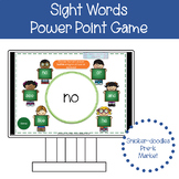 SIGHT WORD PRACTICE POWER POINT GAME