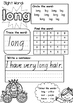SIGHT WORD PRACTICE WORKBOOK ~ Book 12 {QLD Font}