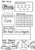 SIGHT WORD PRACTICE WORKBOOK ~ Book 8 {QLD font}