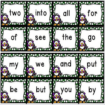 Sight Words Games and Practice for PRE-K through 1st GRADE