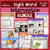 SIGHT WORD Reading & Writing Intervention BUNDLE:  RTI Tier 2- Fry Words