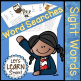 Sight Word, Word Searches, Popcorn Words, High Frequency Words