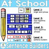 SIGHT WORD SENTENCE BUILDERS-Back to School (K-2/SPED/ELL)