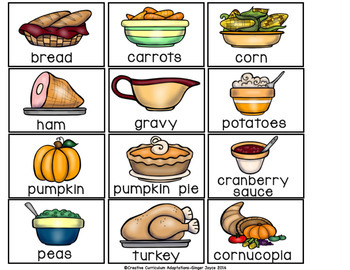 SIGHT WORD SENTENCE BUILDERS-Thanksgiving (K-2/SPED/ELL)