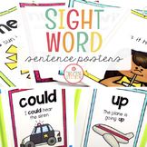 SIGHT WORD SENTENCE POSTERS