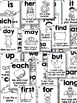 SIGHT WORD SENTENCE CARDS-FRY'S FIRST 100 STYLE 2 BLACK AN