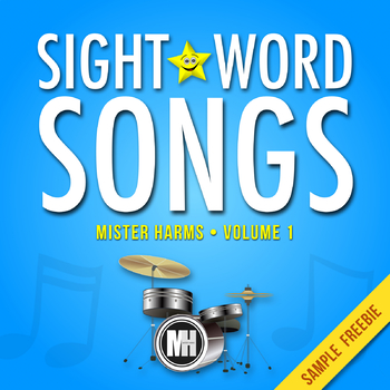 SIGHT WORD SONGS • Vol 1: Song & Expansion Pack of Activities (FREEBIE)