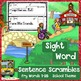 SIGHT WORD Sentence Scrambles: Fry Words 1-25 Handwriting