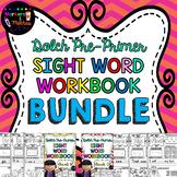 SIGHT WORD WORKBOOKS ~ Dolch Pre-Primer BUNDLE!