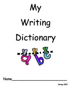 SIGHT WORD WRITING DICTIONARY