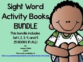 SIGHT WORD and HIGH FREQUENCY WORD BUNDLE: Sets 1-5 and 25