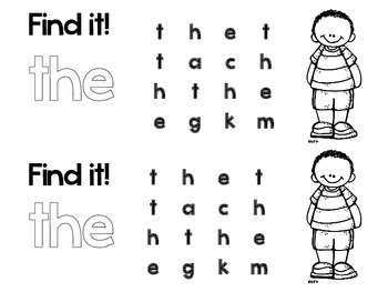 SIGHT WORD and HIGH FREQUENCY WORDS: Fun and Engaging FREEBIE