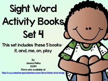 SIGHT WORD and HIGH FREQUENCY WORDS: Set 4