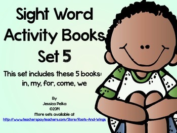 SIGHT WORD and HIGH FREQUENCY WORDS: Set 5