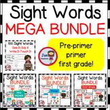 SIGHT WORDS BUNDLE Pre-primer, Primer and First 100 Words