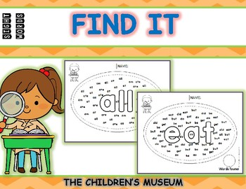 SIGHT WORDS - FIND IT