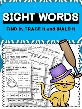SIGHT WORDS Find it, Trace it and Built it