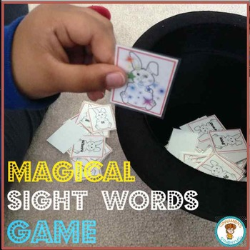 SIGHT WORDS GAME! Pre-Primer Set