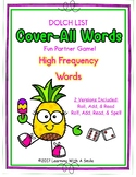 SIGHT WORDS (Dolch Words)  COVER-ALL WORDS Partner Game