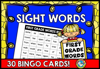 SIGHT WORDS PRACTICE: SIGHT WORDS GAME: SIGHT WORDS BINGO GAME