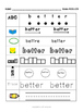 SIGHT WORDS Practice Dolch 151-175