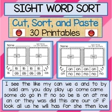 SIGHT WORDS SORT