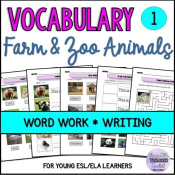 ESL Domestic and Wild Animals Vocabulary VOL.1
