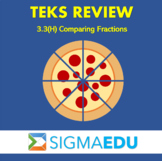SIGMA Education | Math 3 TEKS Review - 3.3(H) Comparing Fractions