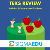 SIGMA Education | Math 3 TEKS Review - Addition & Subtract