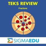SIGMA Education | Math 3 TEKS Review - Fractions BUNDLE