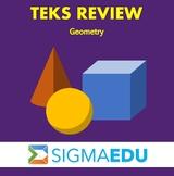 SIGMA Education | Math 3 TEKS Review - Geometry BUNDLE