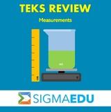 SIGMA Education | Math 3 TEKS Review - Measurements BUNDLE