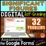 SIGNIFICANT FIGURES ~ Self-Grading Quiz Assessments for Go