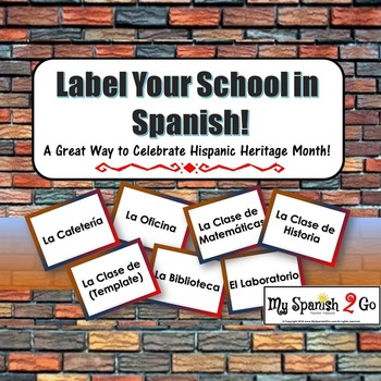 Spanish CLASS NAMES AND PLACES IN THE SCHOOL