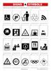 SIGNS & SYMBOLS WORKSHEETS - MEDIA LITERACY