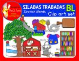 SILABAS TRABADAS - BL - CLIPART SET
