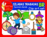 SILABAS TRABADAS - BR - CLIPART SET
